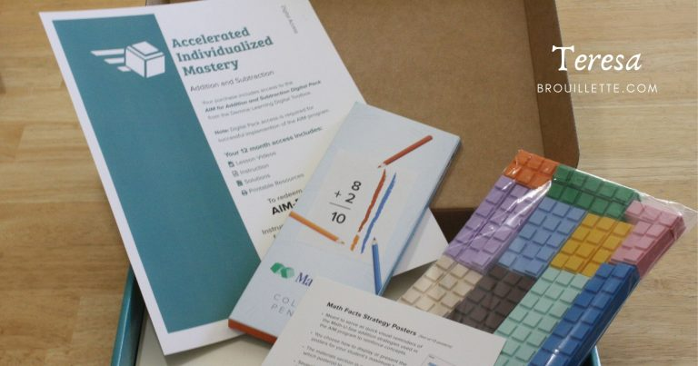 Math-U-See Accelerated Individualized Mastery (AIM) {Review}