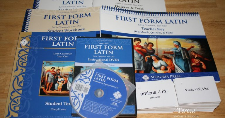 First Form Latin Complete Set {Review}