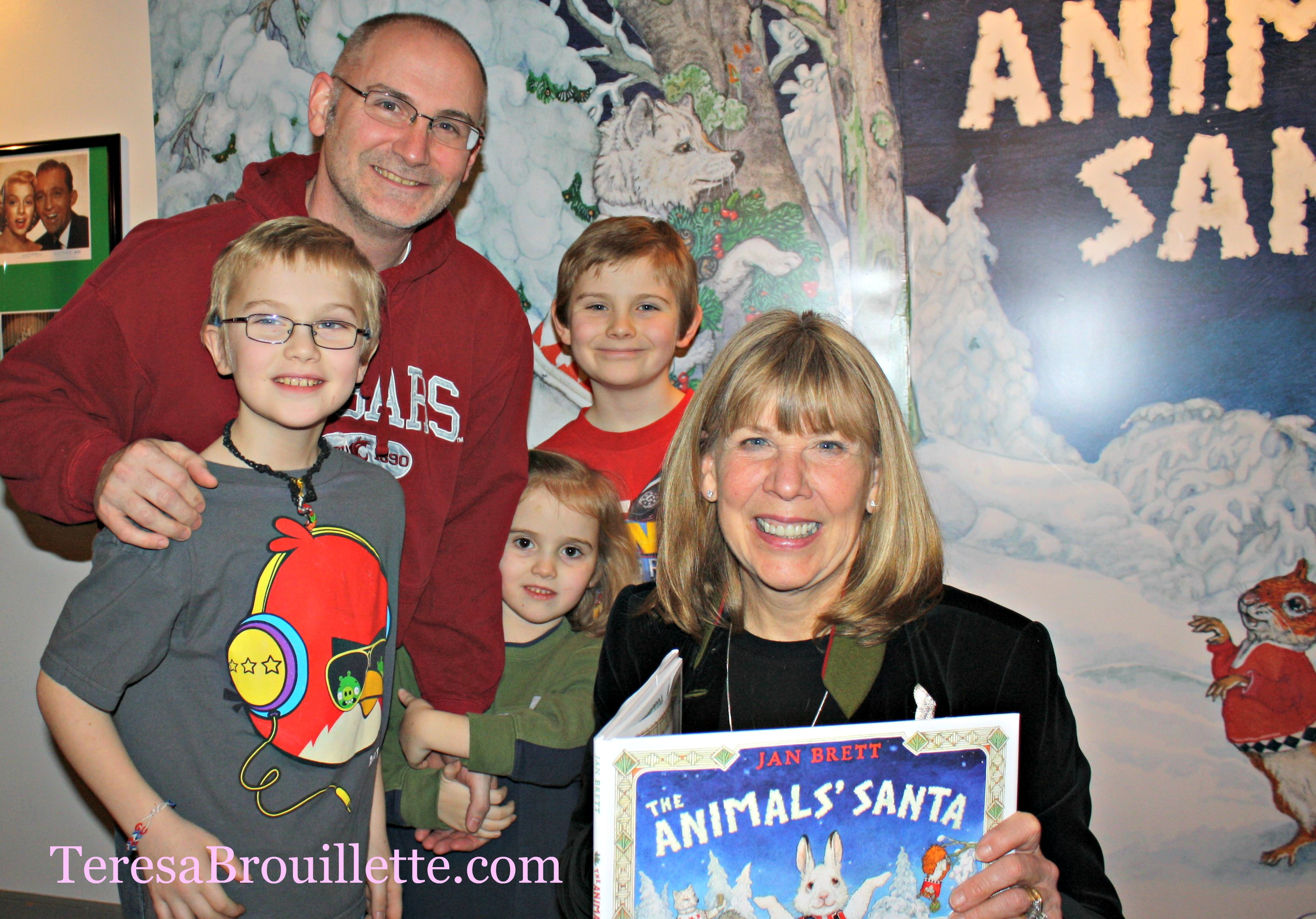 An Evening With Jan Brett and The Animals' Santa