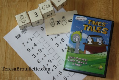 Times Tales is a fun and effective system for any student ready to learn upper times tables!