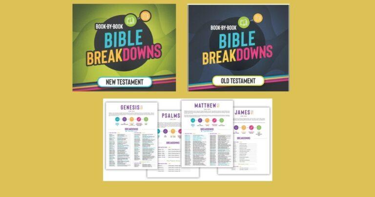 Bible Breakdowns {Review}