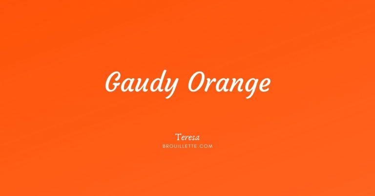 Gaudy Orange