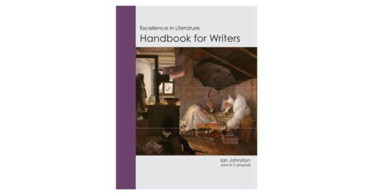 Excellence in Literature Handbook for Writers {Book Review}