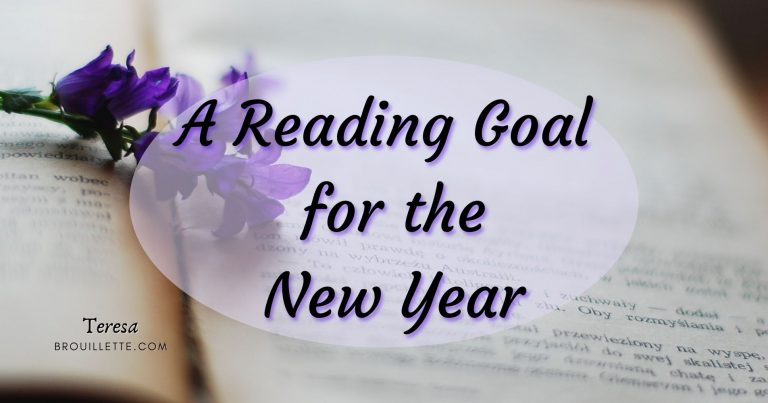 A Reading Goal For The New Year