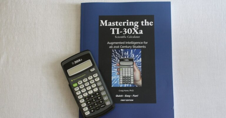 Mastering the TI-30Xa Scientific Calculator {Review}