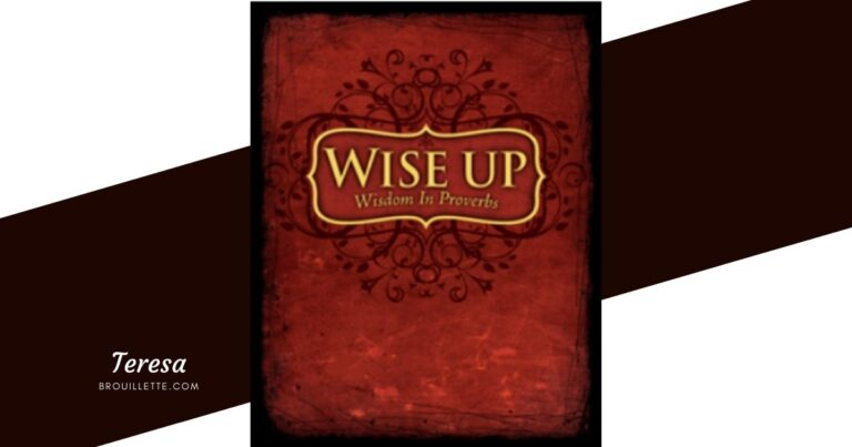 Wise Up Wisdom In Proverbs {Review}